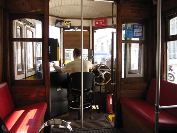 Европа 2009. Трамвайки в Лиссабоне