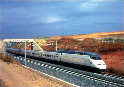 Европа 2009. Поезд «Мадрид - Барселона»