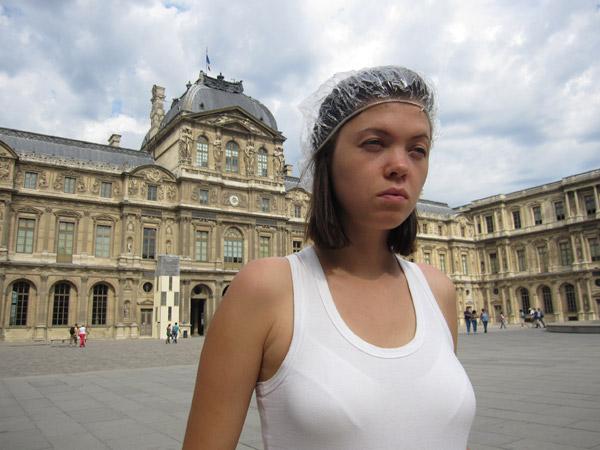 Европа 2009. Париж. Лувр